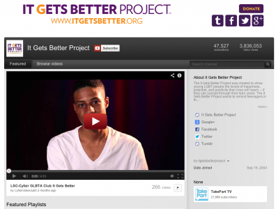 you tube get better project
