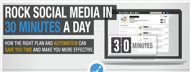 The 30 Minute Social Media Marketing Strategy [Infographic]